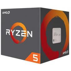 AMD Ryzen 5 2600X, 6 Cores AM4 CPU, 4.25GHz 19MB 95W w/Wraith Spire Cooler Fan Box YD260XBCAFBOX