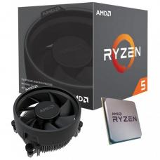 AMD Ryzen 5 3400G, 4 Core AM4 CPU, 3.7GHz 4MB 65W w/Wraith Stealth Cooler Fan RX Vega Graphics Box  YD3400C5FHBOX-P