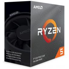 AMD Ryzen 5 3600X, 6 Core AM4 CPU, 3.8GHz 4MB 65W w/Wraith Spire Cooler Fan 100-100000022BOX-P