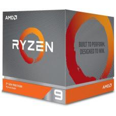 AMD Ryzen 9 3900X, 12 Core AM4 CPU, 3.8GHz 4MB 105W w/Wraith Prism Cooler Fan 100-100000023BOX-P