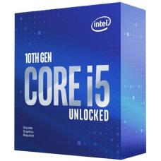 Intel Core i5-10600KF CPU 4.1GHz (4.8GHz Turbo) LGA1200 10th Gen 6-Cores 12-Threads 12MB 95W Graphic Card Required Retail Box 3yrs Comet Lake BX8070110600KF