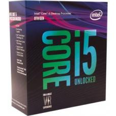 Intel Core i5-8600K 3.6Ghz No Fan Unlocked s1151 Coffee Lake 8th Generation Boxed 3 Years Warranty BX80684I58600K