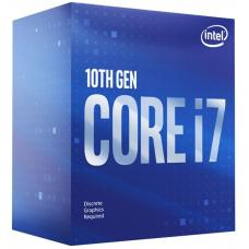 Intel Core i7-10700F CPU 2.9GHz (4.8GHz Turbo) LGA1200 10th Gen 8-Cores 16-Threads 16MB 65W Graphic Card Required Retail Box 3yrs Comet Lake BX8070110700F