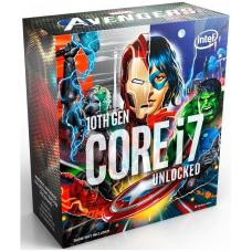 Intel Core i7-10700K Avengers CPU 3.8GHz (5.1GHz Turbo) LGA1200 10th Gen 8-Cores 16-Threads 16MB 95W UHD Graphic 630 Retail Box 3yrs Comet Lake BX8070110700KA