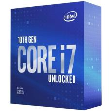 Intel Core i7-10700KF CPU 3.8GHz (5.1GHz Turbo) LGA1200 10th Gen 8-Cores 16-Threads 16MB 95W Graphic Card Required Retail Box 3yrs Comet Lake BX8070110700KF