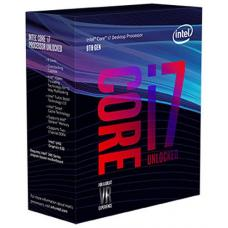 Intel Core i7-8700K 3.7Ghz No Fan Unlocked s1151 Coffee Lake 8th Generation Boxed 3 Years Warranty - SYSTEM BUILD ONLY BX80684I78700K