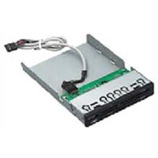Astrotek 3.5' Internal Card Reader Black All In One USB2.0 M2 CF/CF2 XD T-FLASH SD/MMC MS/MS Duo AT-V-113