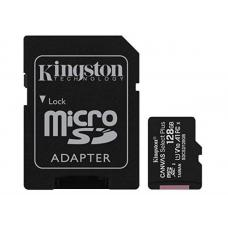 Kingston 128GB MicroSD SDHC SDXC Class10 UHS-I Memory Card 100MB/s Read 10MB/s Write with standard SD adaptor ~SDCS/128GB SDCS2/128GB