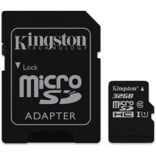 Kingston 32GB MicroSD SDHC SDXC Class10 UHS-I Memory Card 100MB/s Read 10MB/s Write with standard SD adaptor ~FMK-SDCS-32 SDCS/32GB SDCS2/32GB