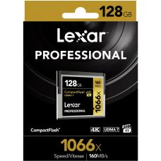 Lexar Professional 1066x 128GB CF Compact Flash Card - Upto 160MB/s LCF128CRBAP1066