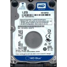 WD Blue 1TB SATA3 9.5mm 2.5' 5400RPM 6Gb/s 128MB Cache WD10SPZX