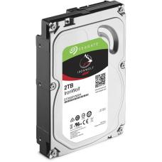 Seagate 2TB IronWolf NAS 3.5' 5900RPM SATA3 6Gb/s 64MB HDD. 3 Years Warranty ST2000VN004