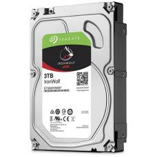 Seagate 3TB 3.5' IronWolf NAS 5900RPM SATA3 6Gb/s 64MB HDD. 3 Years Warranty ST3000VN007