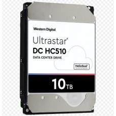 WD 10TB Ultrastar Enterprise 3.5' SAS 512E SE 256MB, 7200RPM 12GBs, DC H510. HelioSeal - 5 Years Warranty 0F27354
