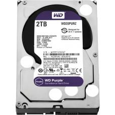 WD Purple 2TB Surveillance 3.5' IntelliPower SATA3 6Gb/s 64MB 5400 RPM Hard Drive WD20PURZ