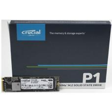 Crucial P1 500GB M.2 (2280) NVMe PCIe SSD - 3D NAND 1900/950 MB/s Acronis True Image Cloning Software via Download CT500P1SSD8