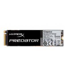 Kingston Predator M.2 PCIe SSD 240GB - 1400/1000 MB/s Gen2 x4 Full Height Marvell 88SS9293 controller Solid State Drive SHPM2280P2/240G