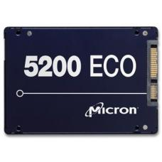 Micron 5200 ECO 480GB 2.5' SATA3 6Gbps 7mm Server Data Centre SSD 3D TLC NAND 540R/385W MB/s 81K/33K IOPS 1DWPD 3 Mil hrs 5yrs Crucial MTFDDAK480TDC-1AT16ABYY