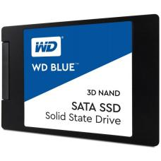 Western Digital Blue 250GB 2.5' 3D NAND SSD 7MM 550/525 R/W, SATA 6GB. 5 Years Warranty WDS250G2B0A