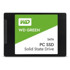 Western Digital Green 480GB 2.5' 3D NAND SSD 7MM, 540/430 R/W, SATA 6GB. 3 Years Warranty WDS480G2G0A