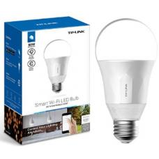 TP-Link LB100 Smart Wi-Fi A19 LED Bulb, 2700K Dimmable White, No Hub Required, 50W Equivalent, 2.4GHz 802.11b/g/n, TP-Link Kasa App Android/iOS LB100
