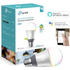 TP-Link LB130 Smart Wi-Fi A19 LED Bulb, 16 Million Colors, Dimmable, Tunable White (2500-9000K), No Hub Required, 60W Equivalent, 2.4GHz 802.11b/g/n,  LB130