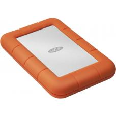 Seagate LaCie 4TB Rugged Mini, USB 3.0, IP67-rated extreme water resistance to drop, rain, dust, and crush resistance, Aluminium 2 Years Warranty (LS LAC9000633
