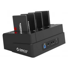 ORICO 4 Bay USB3.0 External Hard Drive Dock with 1 to 3 Clone Function ORICO 6648US3-C-BK