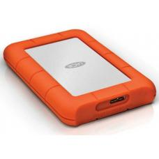Seagate LaCie 2TB Rugged Mini Portable USB 3.0, USB-C Cable. External HDD LAC9000298, 2 Years Warranty LAC9000298