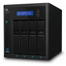 Western Digital My Cloud Pro PR4100 0TB NAS Pentium N3710 Quad-Core 4GB RAM RAID 3xUSB3.0 2xGbE LAN Auto Backup Sync 256 AES Encrypt Windows MAC WDBNFA0000NBK-SESN