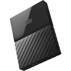 WD My Passport 1TB Black 2.5' Portable USB3.0 Black. REIMAGINED DESIGN. WDBYNN0010BBK