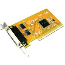 Sunix COMCARD-2LP Dual Port Serial IO Card Low Profile PCI Card - 2Port RS-232 Universal PCI Low Profile Serial Board SER5037AL