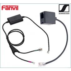 Fanvil / Sennheiser Electronic Hook Switch (EHS) Adapter - Inc RJ9 Connector Cable EHSADAPTOR