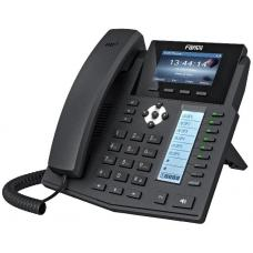 Fanvil X5S Enterprise IP Phone - 3.5' Colour Screen, 16 Lines, 40 x DSS Buttons, Dual Gigabit NIC, Optional Bluetooth via BT20 X5S