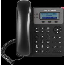 Grandstream GXP1615 1 Line IP Phone, 1 SIP Account, 132x48 Colour LCD Screen, HD Audio, Powerable Via PoE GXP1615