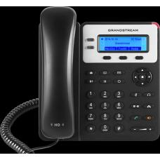 Grandstream GXP1625 2 Line IP Phone, 2 SIP Accounts, 132x48 Backlit Graphical LCD Display, HD Audio, Powerable Via PoE GXP1625