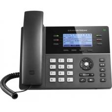 Grandstream GXP1760W 6 Line IP Phone, 3 SIP Accounts, 200x80 Pixel Backlit Display, HD Audio, Integrated Dual Band WiFi, Powerable Via POE GXP1760W
