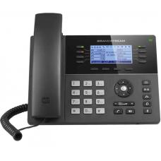 Grandstream GXP1782 8 Line IP Phone, 4 SIP Accounts, 200x80 Pixel Backlit Display, HD Audio, Dual-Switched Gigabit Port, Powerable Via POE. GXP1782