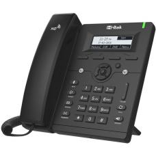 Htek UC902 Entry Business IP Phone, 2 Line Display, 10/100m Ethernet, 2 Year Warranty (Yealink T19 equivalent) UC902