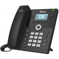 Htek UC912E Standard Business IP Phone, Wifi / Bluetooth, 4 Line Display, Gigabit Ethernet, PSU included, 2 Year Warranty (Yealink T42S equivalent) UC912E