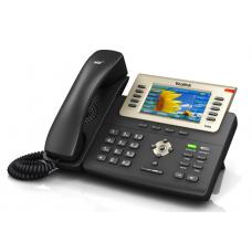 Yealink T29G 6 Line IP phone, 480x272 LCD, 27 Program keys/BLF/XML/PoE/HDVEHS support/Dual Gigabit Ports. 1 USB Port for BT40. SIP-T29G