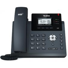 YealinkT40G 3 Line IP phone, 2.3'132x64 pixel graphical LCD with backlight, 2x Gigabit Ports, 4 Program keys/BLF/XML/HDV. (Power Adapter optional) SIP-T40G