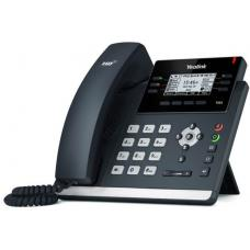 Yealink T42S 12 Line IP phone, 2.7'192x64 pixel graphical LCD with backlight, Dual Gigabit Ports, 6 Program keys/BLF/XML/HDV, 1x USB Port, Opus Suppor SIP-T42S