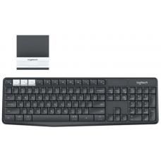 Logitech K375S Multi-Device Wireless Keyboard Black Take-to-type Easy-Switch wireless10m Hotkeys Switch 1year Warranty 920-008250