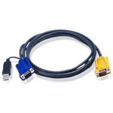Aten 1.8m USB KVM Cable to suit CS7xE, ACS12xxA, CL10xx 2L-5202UP