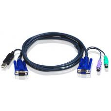 Aten 1.8m USB KVM Cable to suit CS91x, CS8xA, CS913x 2L-5502UP1