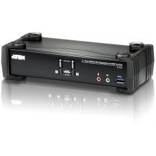 Aten 2 Port USB 4K DisplayPort KVMP USB 3.0 Switch. Support 4096 x 2160 @ 60Hz CS1922