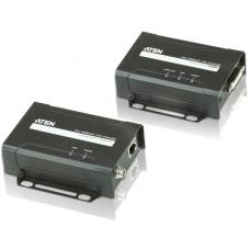 Aten HDBaseT DVI-D Lite Video Extender - Up to 4K@35m or 70m (CAT 6A) Max VE601-AT-U