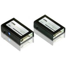 Aten VanCryst DVI Dual-Link Over Cat5 Video Extender with Audio VE602-AT-U