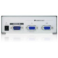Aten 2 Port Video Splitter 250Mhz 1920x1440@60Hz Upto 65m VS92A-AT-U